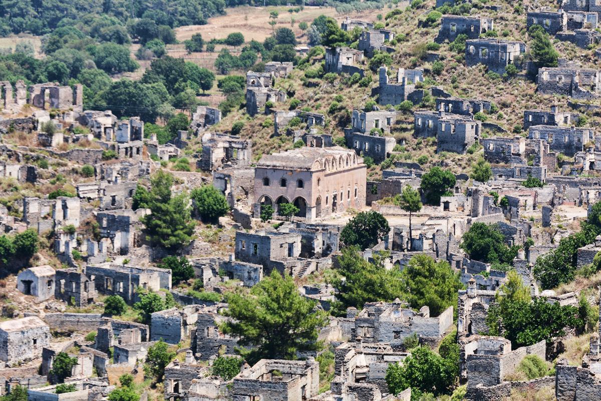Fethiye Kayakoy town