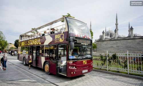 Istanbul bus city tour