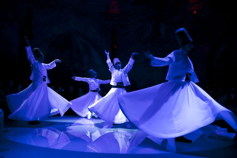 Whirling Dervishes Istanbul show