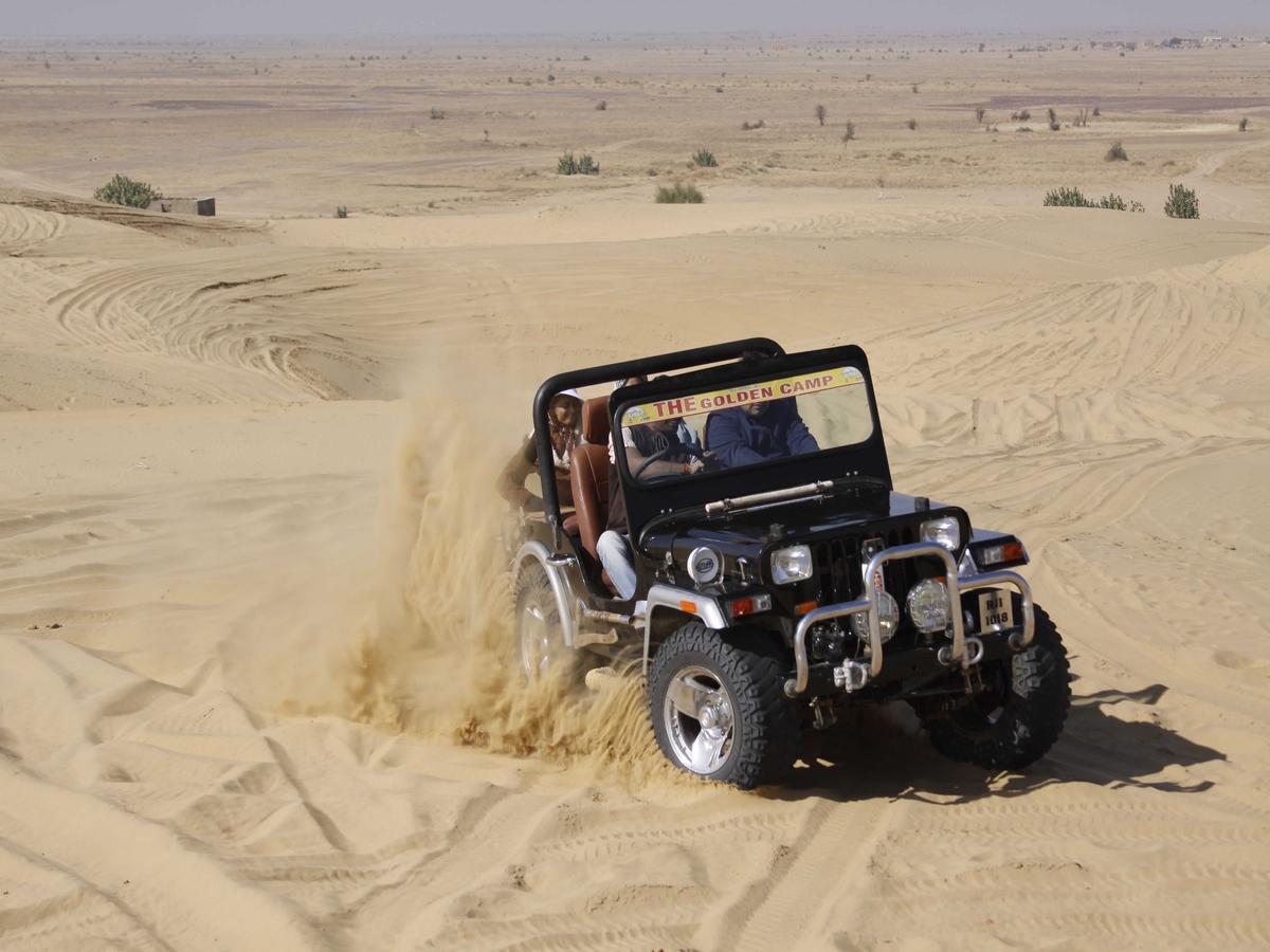 رحلة الجيب سفارى فى صحراء الاردن