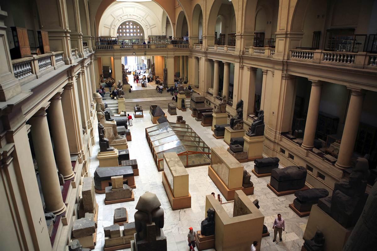 رحلة الى المتحف المصرى