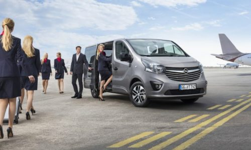 New Opel Vivaro Tourer